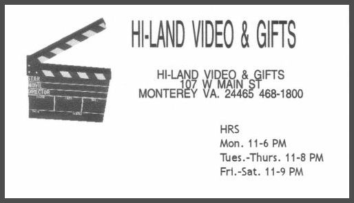 Highland County Virginia Information